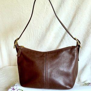 COACH Vintage Brown Leather Handbag